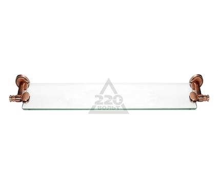 Полка для ванной комнаты стеклянная VERRAN Avtika 250-03