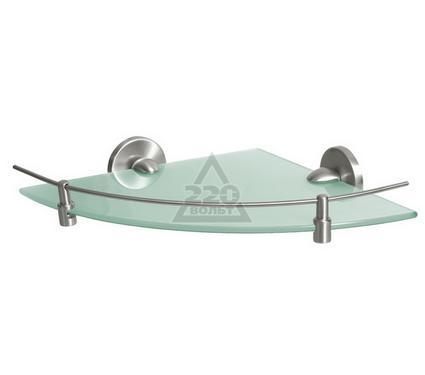Полка для ванной комнаты стеклянная угловая BISK Virginia 72091