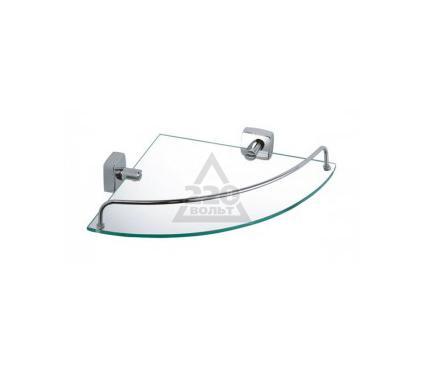 Полка для ванной комнаты угловая стеклянная FIXSEN Kvadro FX61303A