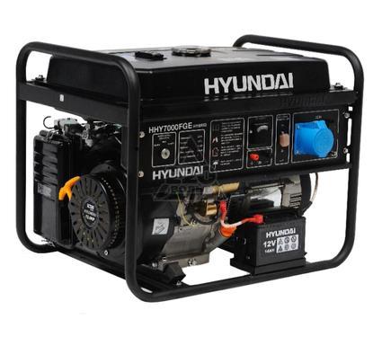 Бензиновый генератор HYUNDAI HHY7000FGE
