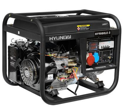 Бензиновый генератор HYUNDAI HY 9000LE-3