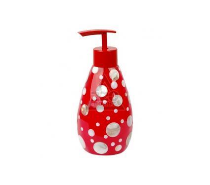 Диспенсер для жидкого мыла WESS Krugla red G87-18