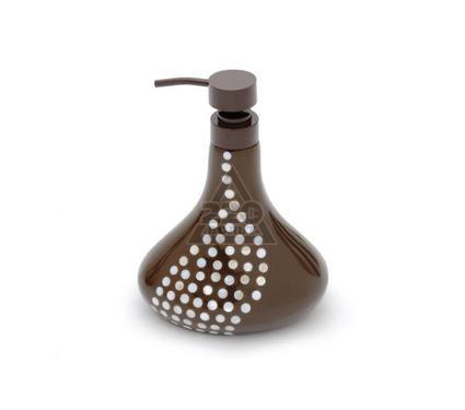 Дозатор для жидкого мыла WESS Krugla brown G87-44