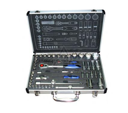 Набор торцевых головок с принадлежностями и битами, 75 предметов UNIPRO 20001U