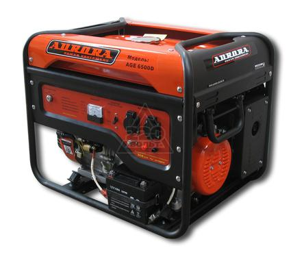 Бензиновый генератор AURORA AGE 6500 D