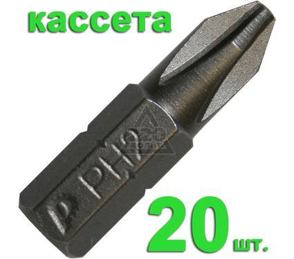 Бита ПРАКТИКА 035-585 Ph2 25мм, Профи, 20шт.