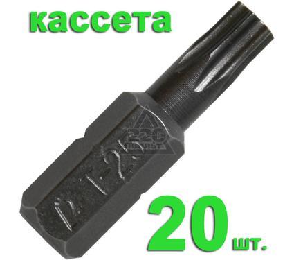 Бита ПРАКТИКА 036-674 T25 25мм, Профи, 20шт.