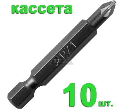 Бита ПРАКТИКА 036-728 Pz1 50мм, Профи, 10шт.