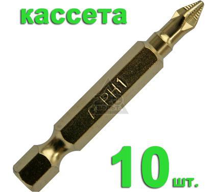 Бита ПРАКТИКА 036-926 Ph1 50мм, TiN, Эксперт, 10шт.