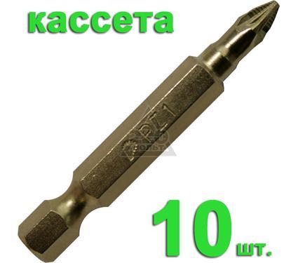 Бита ПРАКТИКА 036-957 Pz1 50мм, TiN, Эксперт, 10шт.