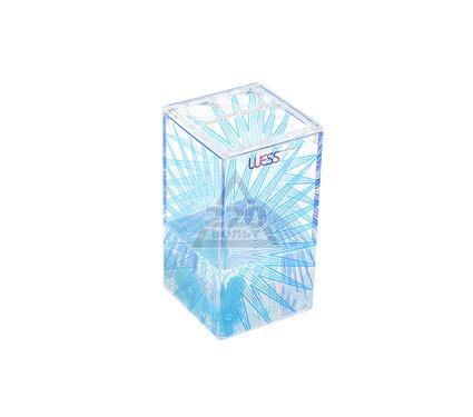 Стакан для зубных щеток WESS Mistilight blue G86-69
