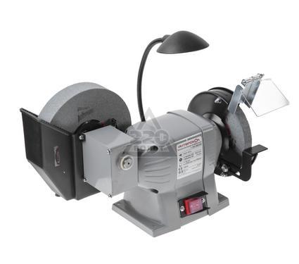 Электроточило с подсветкой и охлаждением ИНТЕРСКОЛ Т-150-200/250