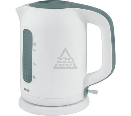 Чайник MYSTERY MEK-1620 white/grey