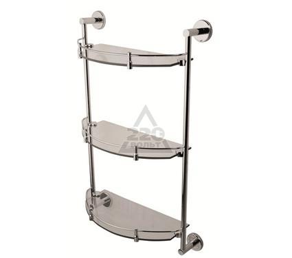 Полка для ванной комнаты стеклянная тройная AM PM A7537900 Sense