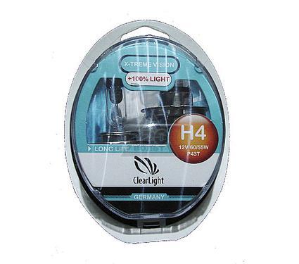 Лампа головного света CLEARLIGHT MLH4XTV120 X-treme Vision +120% Light