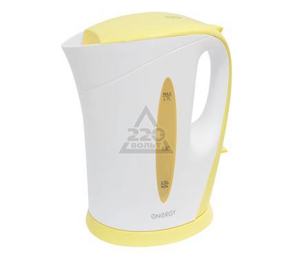 Чайник ENERGY E-215 бело-желтый