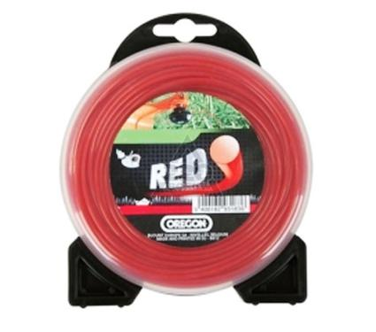 Леска для триммеров OREGON Roundline RED 1.6мм*15м
