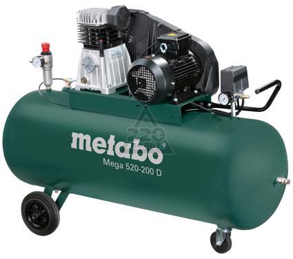 Компрессор поршневой METABO MEGA 520-200 D
