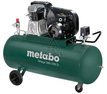 Компрессор поршневой METABO MEGA 580-200 D