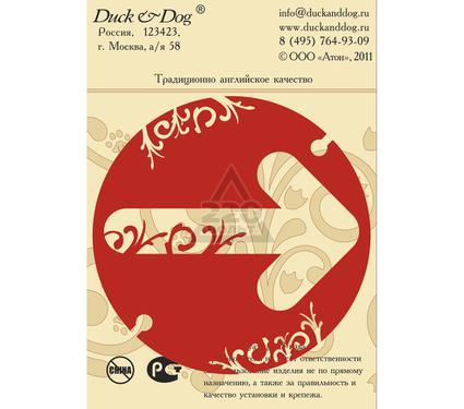 Табличка DUCK & DOG Указание направления