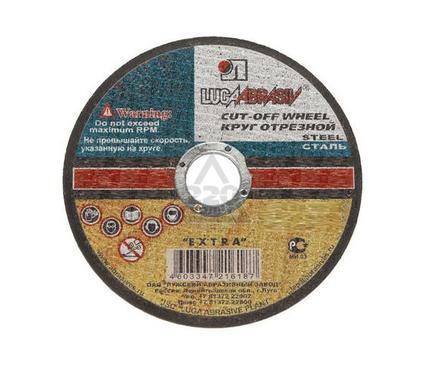 Круг отрезной ЛУГА-АБРАЗИВ 125 Х 3 Х 22 А24 по нержавеющей стали