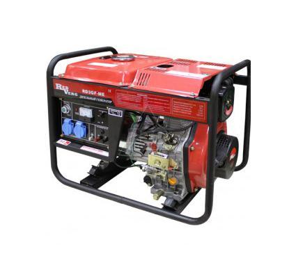 Бензиновый генератор REDVERG RD5GF-ME