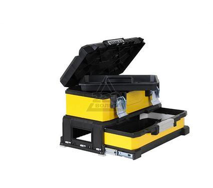 Ящик для инструментов STANLEY Yellow Metal Plastic Toolbox 1-95-829