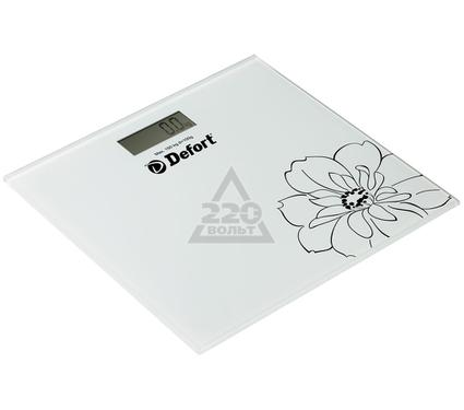 Весы напольные DEFORT DSL-150-We
