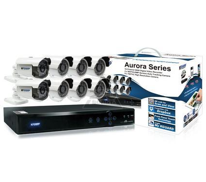 Комплект видеонаблюдения KGUARD Aurora AR1621-2CKT001