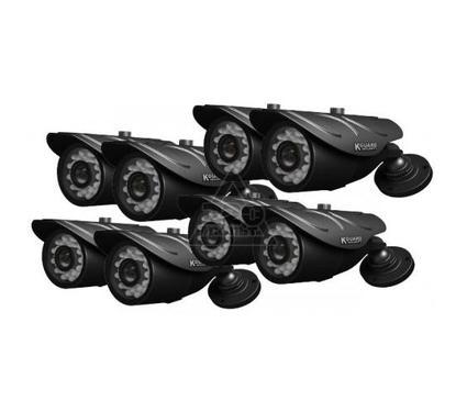 Комплект видеонаблюдения KGUARD NS1601-8CW214H-500G