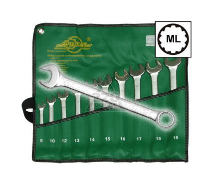 Набор комбинированных гаечных ключей, 10 шт. AIST 0011310A