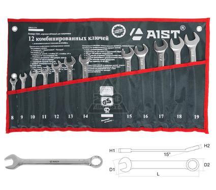 Набор комбинированных гаечных ключей, 12 шт. AIST 0010212С
