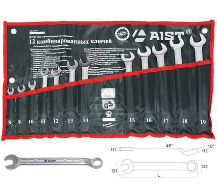 Набор комбинированных гаечных ключей, 12 шт. AIST 0010812AX