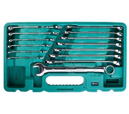 Набор комбинированных удлененных гаечных ключей, 14 шт. AIST 0010114AK1-X