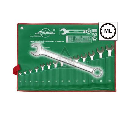 Набор комбинированных гаечных ключей в чехле, 14 предметов AIST 0011314A