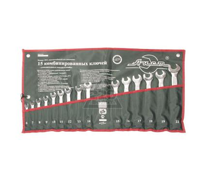 Набор комбинированных гаечных ключей, 15 шт. AIST 0011215AX-M