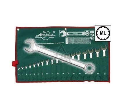Набор комбинированных гаечных ключей в чехле, 18 шт. AIST 0011318A