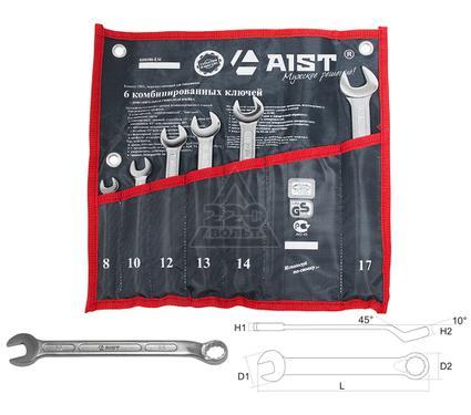 Набор комбинированных гаечных ключей, 6 шт. AIST 0010806AX