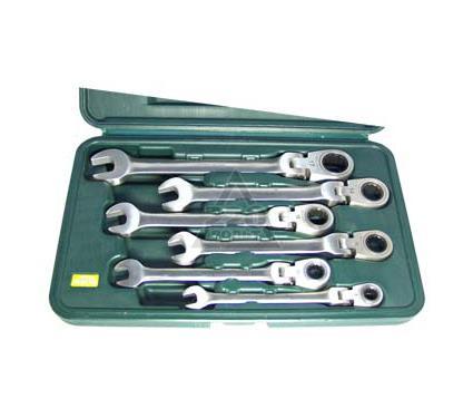 Набор комбинированных гаечных ключей с храповиком, 6 шт. AIST 0010406B