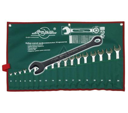 Набор комбинированных гаечных ключей в чехле, 18 шт. AIST 11118