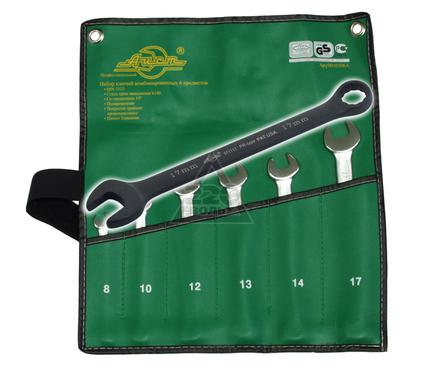 Набор комбинированных удлиненных гаечных ключей, 6 шт. AIST 11106