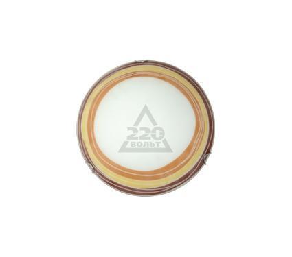 Светильник настенно-потолочный КОМТЕХ MALIA 02 белый/коричневый