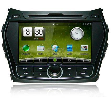 Штатное головное устройство TRINITY Hyundai Santa Fe ms-hns1056 Car Pad