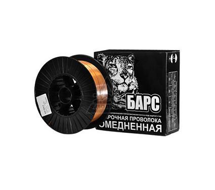 Проволока сварочная БАРС ER-70S-6 ф 1.6мм 15кг