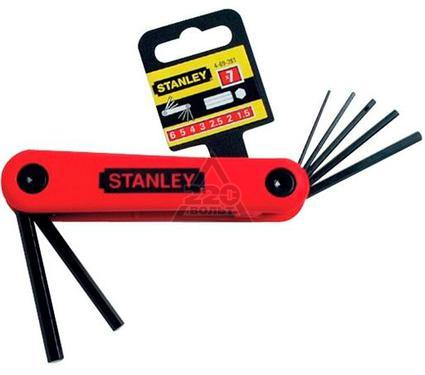 Набор торцевых шестигранных ключей на рукоятке, 7 шт. STANLEY 4-69-261