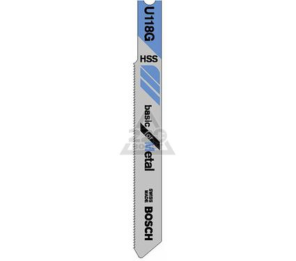 Пилки для лобзика BOSCH U118G