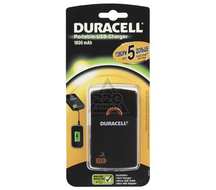 Зарядное устройство DURACELL USB portable charger, 5 hour, 1800mAh (3)