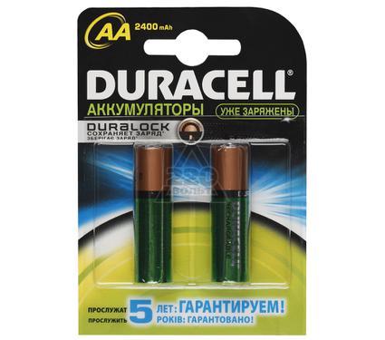 Аккумулятор DURACELL HR6-2BL (2/20) 2400mah