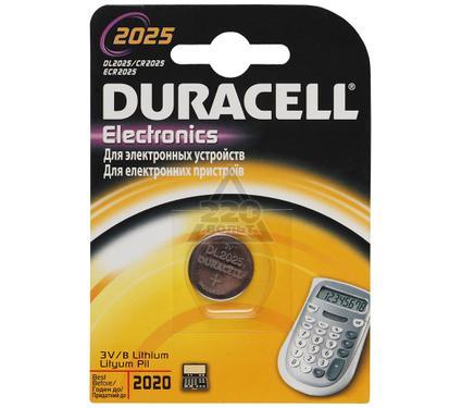 Батарейка DURACELL CR2025 (10/100/12800)