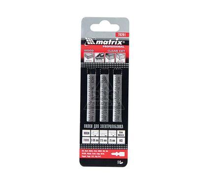 Пилки для лобзика MATRIX 78201